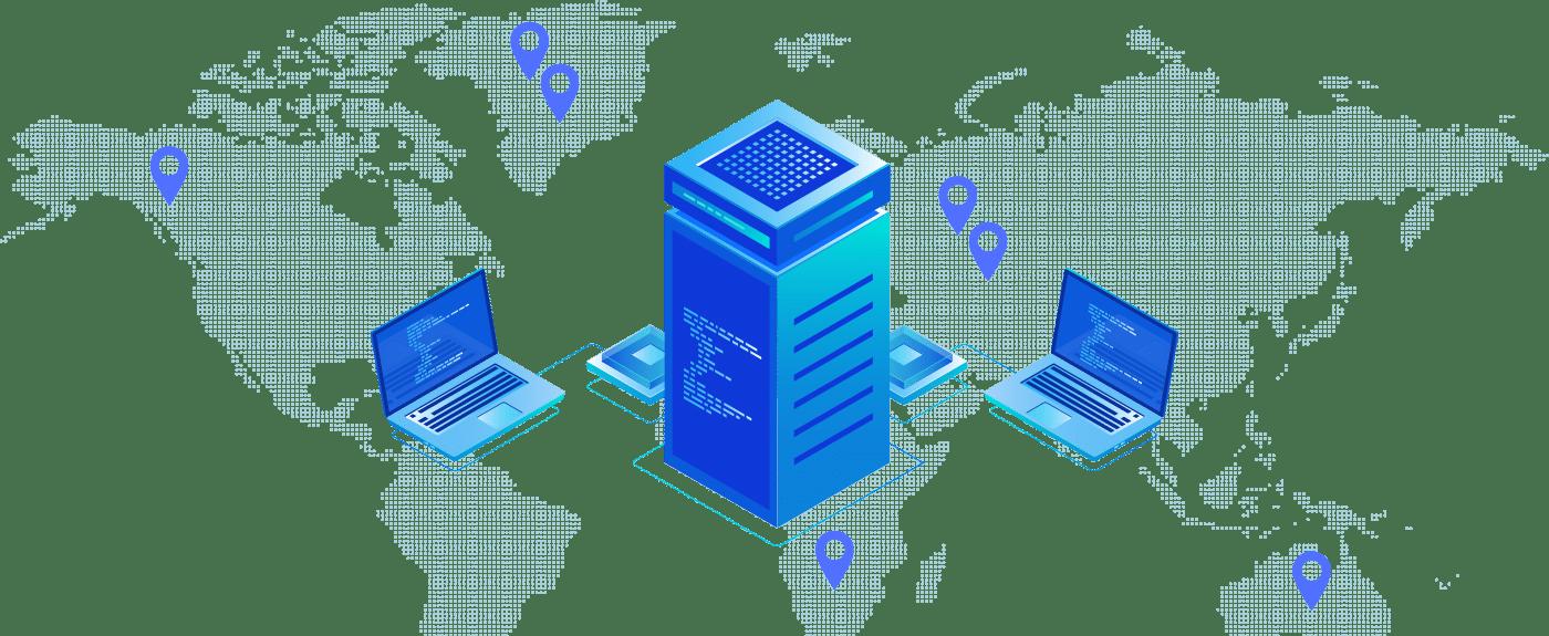 ssd web hosting server location